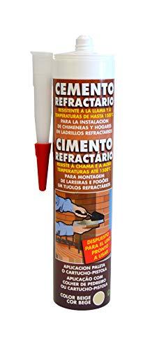 Pyro Feu 24916-12 Cemento Refractario Cartucho