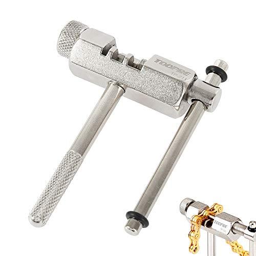 チェーンカッター 自転車用 修復工具 チェーンリムーバー 自転車チェーンブレーカー カッター 取り外し 修理ツール シルバー