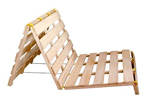 なかよしベンチベッド(安心安全の国産品頑丈な国産ひのき製)折りたたみベット