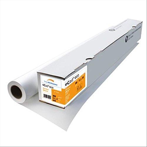 Burgo papier natuurpapier Opaca, Cad, 61 cm, 50 m, 90 g/m², 4-pack