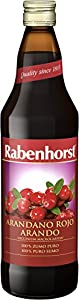 Rabenhorst Zumo de Arándano Rojo Americano - 750 ml