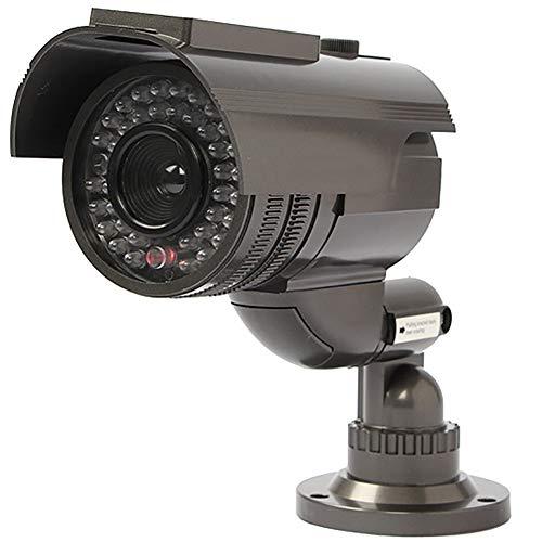 Xingxings Bewakingscamera, zonne-energie, hoge simulatie, CCTV, valse camera, knipperlicht, LED, accu, veiligheid thuis, camera monitor