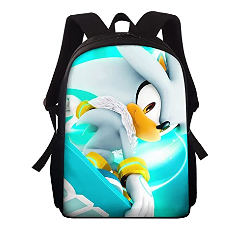 Mochila Sonic Sonic School Bag Mochila Niños Mochila Boy Kindergarten School Backpack Series Student Bag Anime Printing Mochila