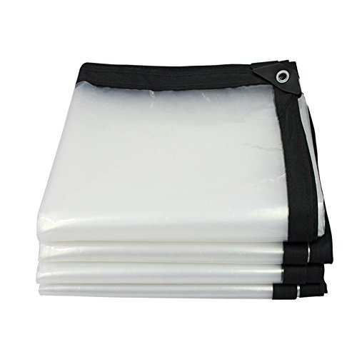 Bâche Transparente Tissu Oxford Hydrofuge Double Face, Imperméable Taille: 2 * 5m (Taille : 1 * 1m)