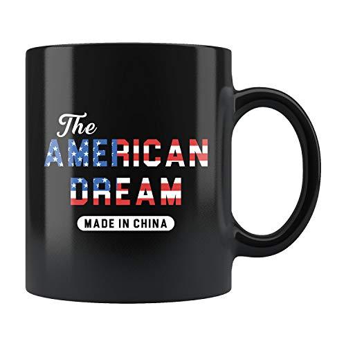 Taza china de regalo china china regalo regalo inmigrante nuevo regalo americano americano sueño americano hecho en China taza de 325 ml