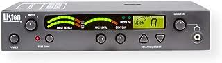 Listen Technologies LT-800-072-01 Stationary 72 MHz RF Transmitter, LCD Display, Channel Lock Status Information, Built-in Auto Processor, 57 Selectable Channels, VU Level Meter, Dark Gray