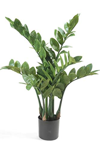 Emerald Kunstpflanze Glücksfeder Zamioculcas Zimmerpflanze H. 70cm