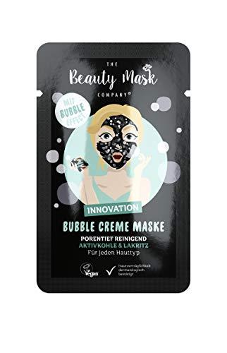 THE Beauty Mask Company Aktivkohle & Lakritz Crememaske, Schwarz, 6 g