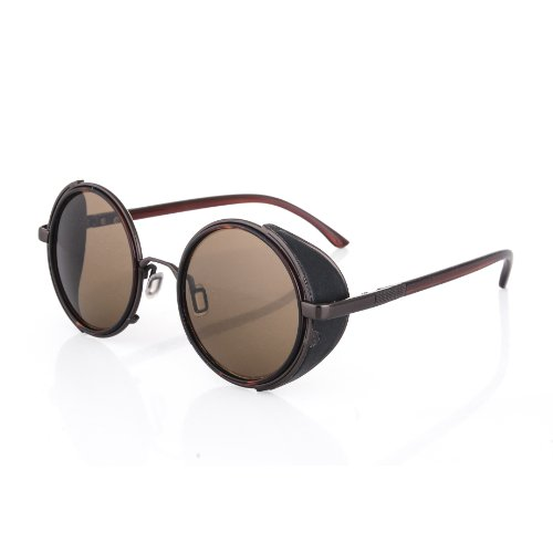 4sold (TM Steampunk Antique Copper Cyber Goggles Rave Goth Vintage Victorian Like Sunglasses