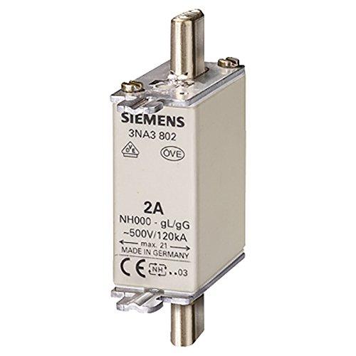 Preisvergleich Produktbild SIEMENS - NH-Sicherungseinsatz,  NH000 25 A spannungsführende Grifflaschen,  Stirnkennmelder