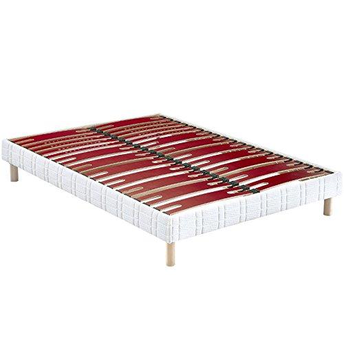 Sommier tapissier Bultex Confort Morphologique Bi-Lattes 120x200