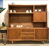 Mueble Tv Vintage, mueble aparador madera de fresno y haya. Ideal para salón retro y vintage. Diseño único