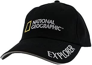National Geographic Explorer Hat Black