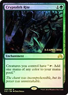 Magic: the Gathering - Cryptolith Rite (200/297) - Prerelease & Release Promos - Foil