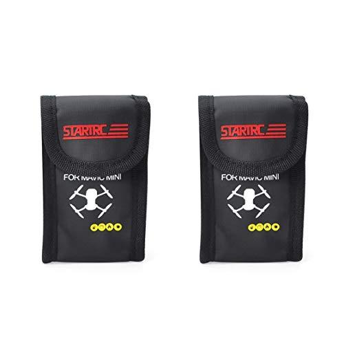 zhouweiwei LiPo Safe Bag para dji Mavic Mini 2pcs Estuche de