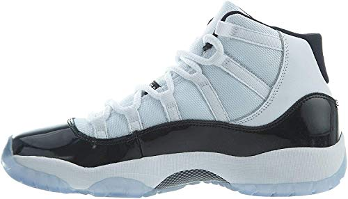 Jordan Air 11 Retro (GS), Zapatillas de Deporte para Hombre, Multicolor (White/Black/Concord 100), 40 EU