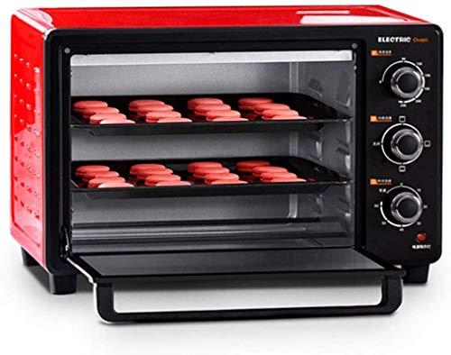 411z7 IgMiL. SL500  - 30-Liter-Multifunktionsherd, Mini-Ofen-Funktionen, 1500W Leistung, leicht zu reinigendes Futter, Minute Timer, kann Pizza, Toast, Bagels, Pizza, gefrorene Snacks backen