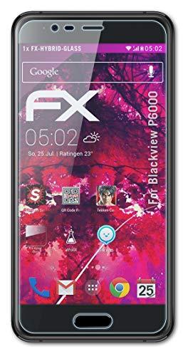atFolix Glasfolie kompatibel mit Blackview P6000 Panzerfolie, 9H Hybrid-Glass FX Schutzpanzer Folie