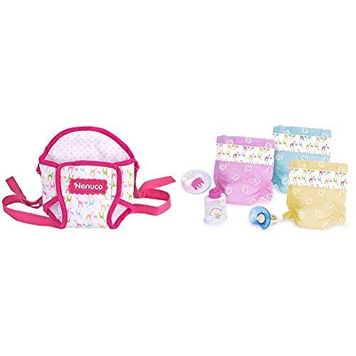 Nenuco de Famosa 700012160 Portabebés para muñeco +  de