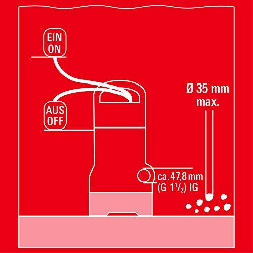 Einhell GC-DP 7835 Schmutzwasserpumpe - 9