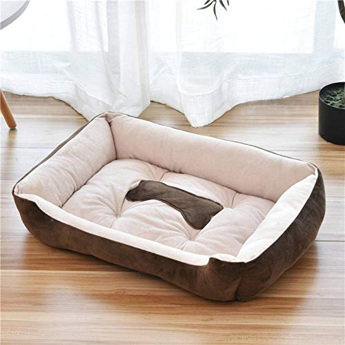 N-B Dog Bed, Safe, Machine Washable, Comfortable, Rectangular Heated Dog Bed, Dog Or Cat Pet Bed.