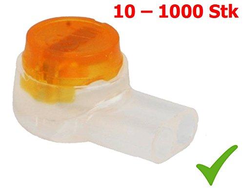 Serre-c/âble Scotchlok UY2 avec gel. 3 m raccord de c/âble