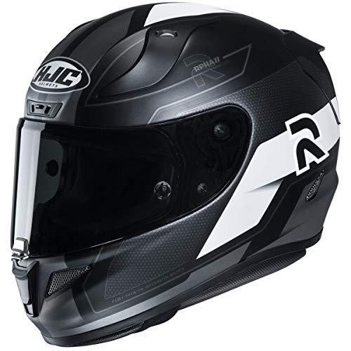 HJC RPHA 11 Pro Helmet - Fesk (X-Large) (Black/White)
