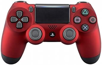 OC Gaming PS4 Dualshock Playstation 4 Wireless Controller Custom Soft Touch New Model JDM-040 (Red)