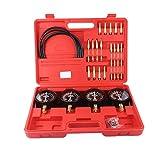 JIEJIE Manual portátiles sincronizador Set 4 medidores de Herramientas Kit de Coche de la Motocicleta la reparación de Herramientas (Color: 1) QIANGQIANG (Color : 1)
