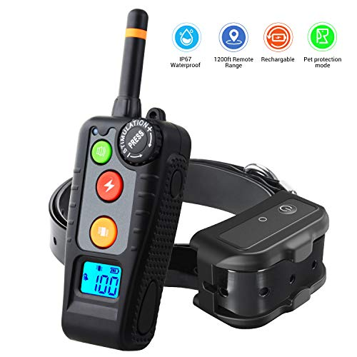 HOLDOG Rechargeable Dog Training Collar with 3...
