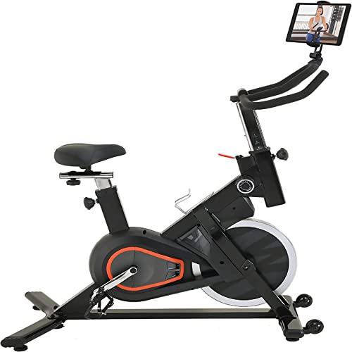 Bicicletas de Bicicleta en Bicicleta para Bicicletas para Bicicletas con cómodo Asiento y Monitor LCD para la Bicicleta de Entrenamiento de Cardio en casa actualizado Sistema de cojinetes