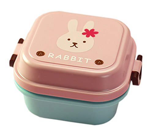 Rabbit multifonctionnel Bento/Lunch Box Kid / Conteneurs Fruit / salade / Snack