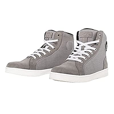 O'NEAL | Freizeit-Schuhe | Adventure Enduro | Wildleder mit wasserabweisender Beschichtung, Protektion durch verstärkten Zehen & Fersenbereich | RCX Urban Shoe | Erwachsene | Grau | Größe 39