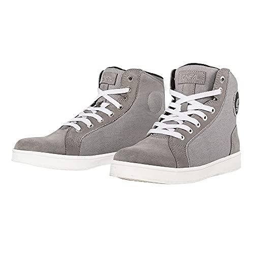 O'NEAL   Freizeit-Schuhe   Adventure Enduro   Wildleder mit wasserabweisender Beschichtung, Protektion durch verstärkten Zehen & Fersenbereich   RCX Urban Shoe   Erwachsene   Grau   Größe 42