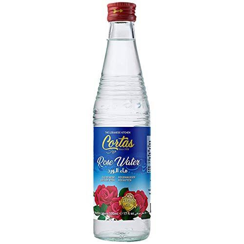 Cortas - Rose Flower Water (Large), 500ML (17 Oz)