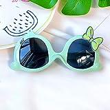 TUEWDFSA Gafas de Sol Chico Chico Lindo Animal de Dibujos Animados Flor de Flores al Aire Libre Gafas de Sol niños Hermosa Vintage Gafas de Sol protección clásico niños Producto al Aire Libre