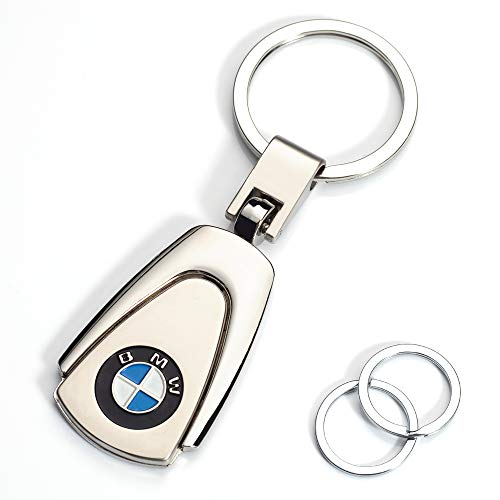 TIANHES Compatible for BMW Keychains 3D Car Logo Key Chain Key Ring Accessories , Suit for BMW 1 3 5 6 Series X5 X6 Z4 X1 X3 X7 7Series Business Gift Birthday Present for Men and Woman(1 Pack)