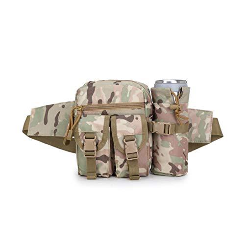 Tragbarer Tactical Kettle Hüfttasche Praktische Flaschenhalter Hüfttasche Multifunktions-militär Kettle Taillen-Beutel Für Im Freien Cp Tarnung