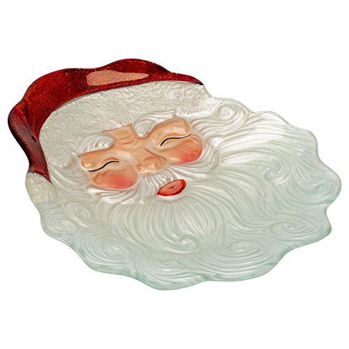 Transpac - Glass Santa Face Plate