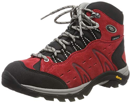 Bruetting MOUNT BONA HIGH, Damen Trekking- & Wanderstiefel, Rot (ROT), 42 EU (9 Damen UK)