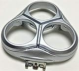 Shaver Razor Head Frame Holder Cover Replacement For Philips Norelco SmartTouch-XL HQ9190 HQ 9190XL 9190XLCC HQ9195 HQ 9195XL 9195XLCC HQ 9199 HQ 9199XL 9199XLCC Men's Beard New Silver