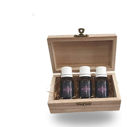 Olio Essenziale Flor De Lis Di Lavanda Puro, Set 3 bottiglie 10ml, Profumatore Asciugatrice,Ambiente, Oli Essenziali Per Diffusori Ambienti