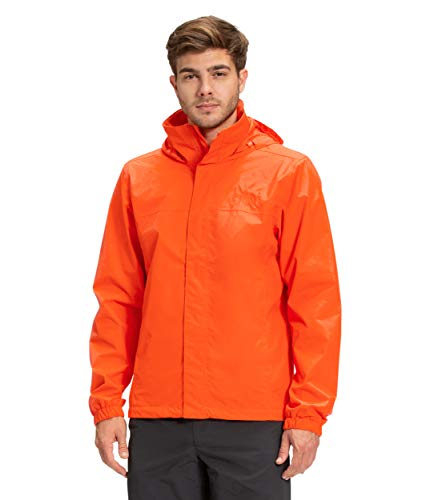 The North Face Men's Resolve Waterproof Jacket, Flame, S