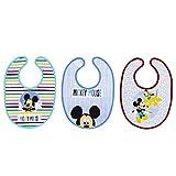 Set de 3 Baberos Rizo Disney (Mickey)
