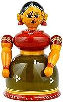 Lepakshi Wood Etikoppaka Toys, 3 x 2 X 4, Multicolour