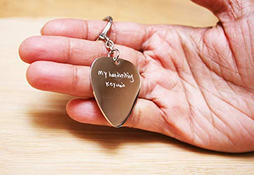 MEDIUM Actual HANDWRITING signature keychain-name