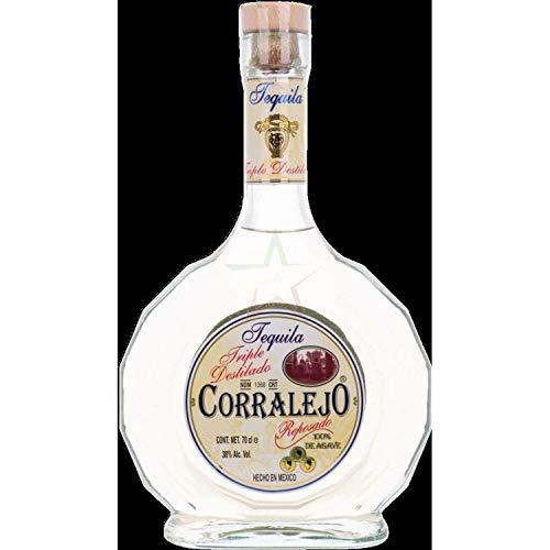 Corralejo Tequila REPOSADO Triple Destillado 100% de Agave 38,00% 0,70 Liter