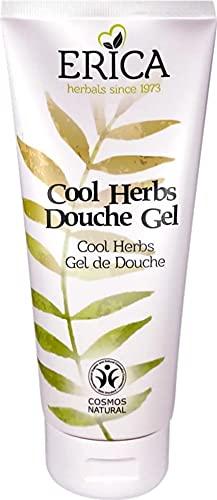 Erica - Gel de ducha Cool Herbs - Gel de ducha refrescante, le da a su cuerpo nueva energía - 200 ML