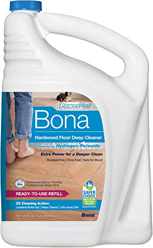 Product Image of the Bona PowerPlus Hardwood Floor Deep Cleaner, Refill-128 Fl Oz