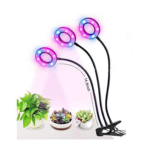 Hochwertiges LED-Pflanzenfülllicht Das Pflanzenwachstum Lampe Drei-LED LED-Anlage Lampe USB Schwanenhalslampe Indoor-Bonsai saftig Blume 5V clip Aufhellblitz, LED wachsen Licht Full Spectrum Flexible